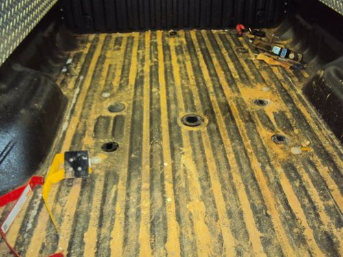 Truck Bed Before