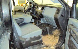 Muddy Interior Before
