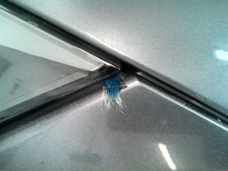 Car Wash Damage
