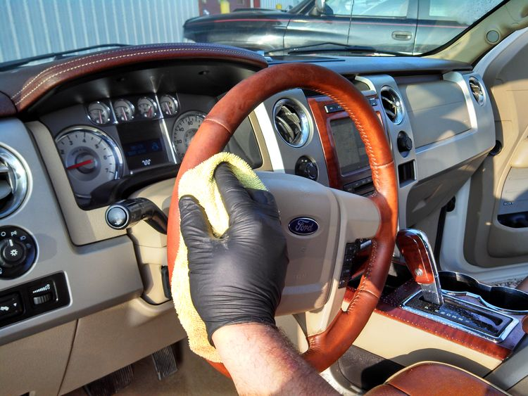 Steering Wheel Cleaner >> Ford F150 King Ranch Truck Car Auto Detailing