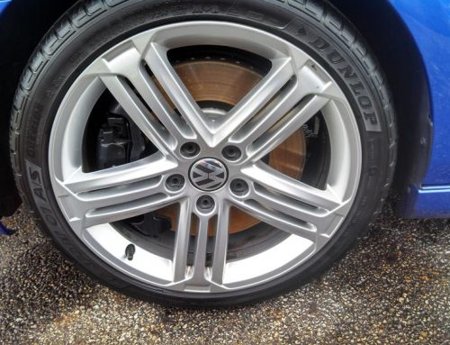 Brake Dust Removal On Wheels