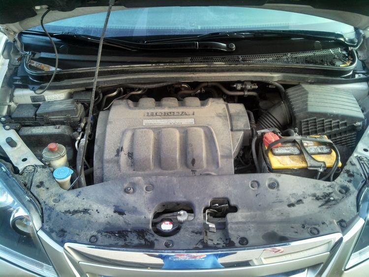 Dirty Honda Odyssey Engine