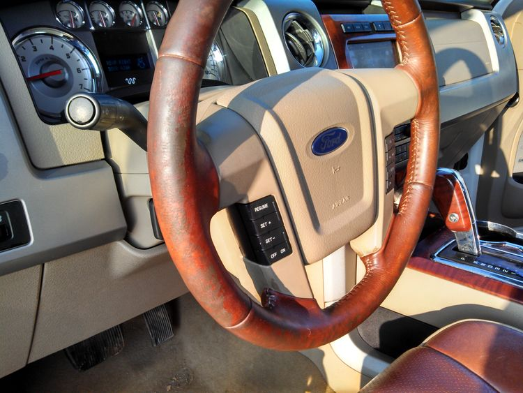 Dirty Steering Wheel