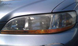 Honda Accord Foggy Headlight