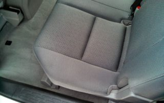 Seat after cleaning