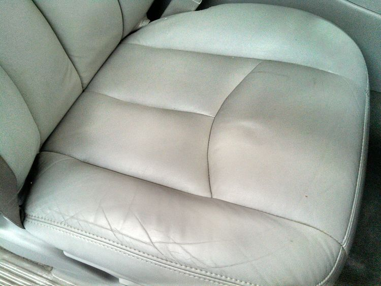 Leather Truck Seat