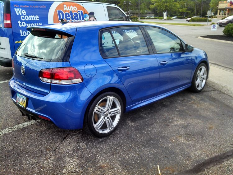 Blue Volkswagon VW RR