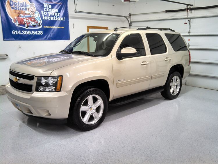 Chevy Tahoe Detailing