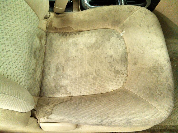 Steam Cleaning Dirty Car Seats | Car