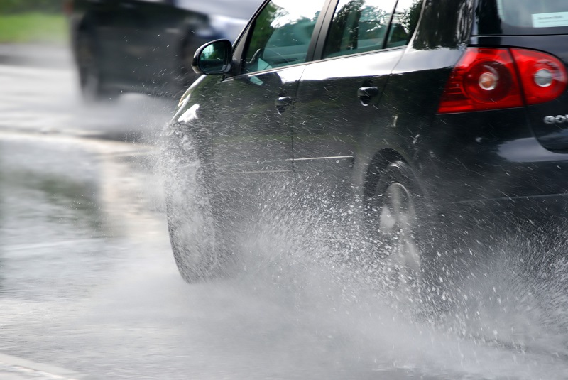 Why wash your car after it rains