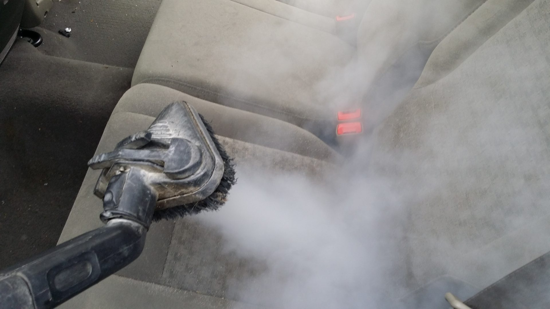 Steam Cleaning Upholstery Seat