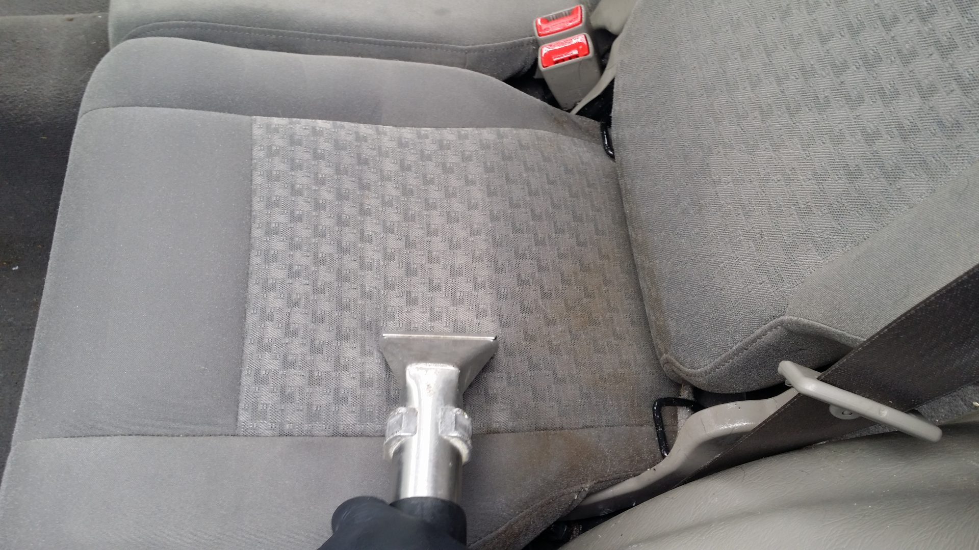 upholstery seat steam a cleaning interior clean car