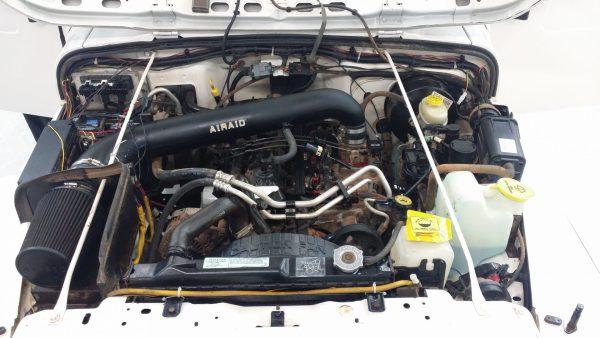 Jeep engine detailing Columbus Ohio