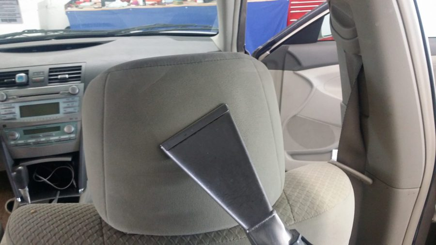 Extracting car upholstery