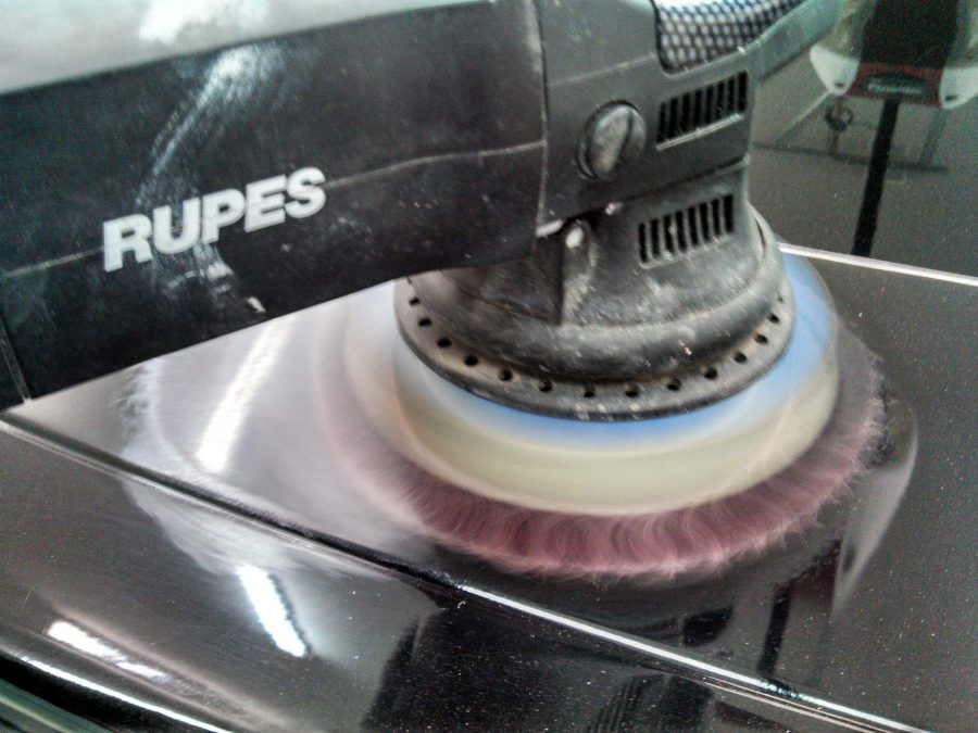 Rupes Bigfoot 21 with Meguiars Cutting Disc