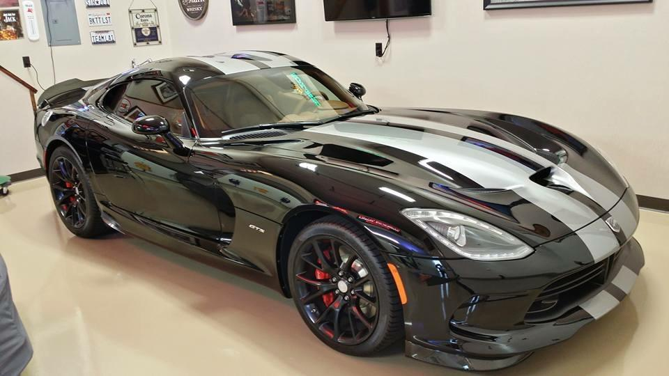 Black Dodge Viper | Auto Detail Doctor