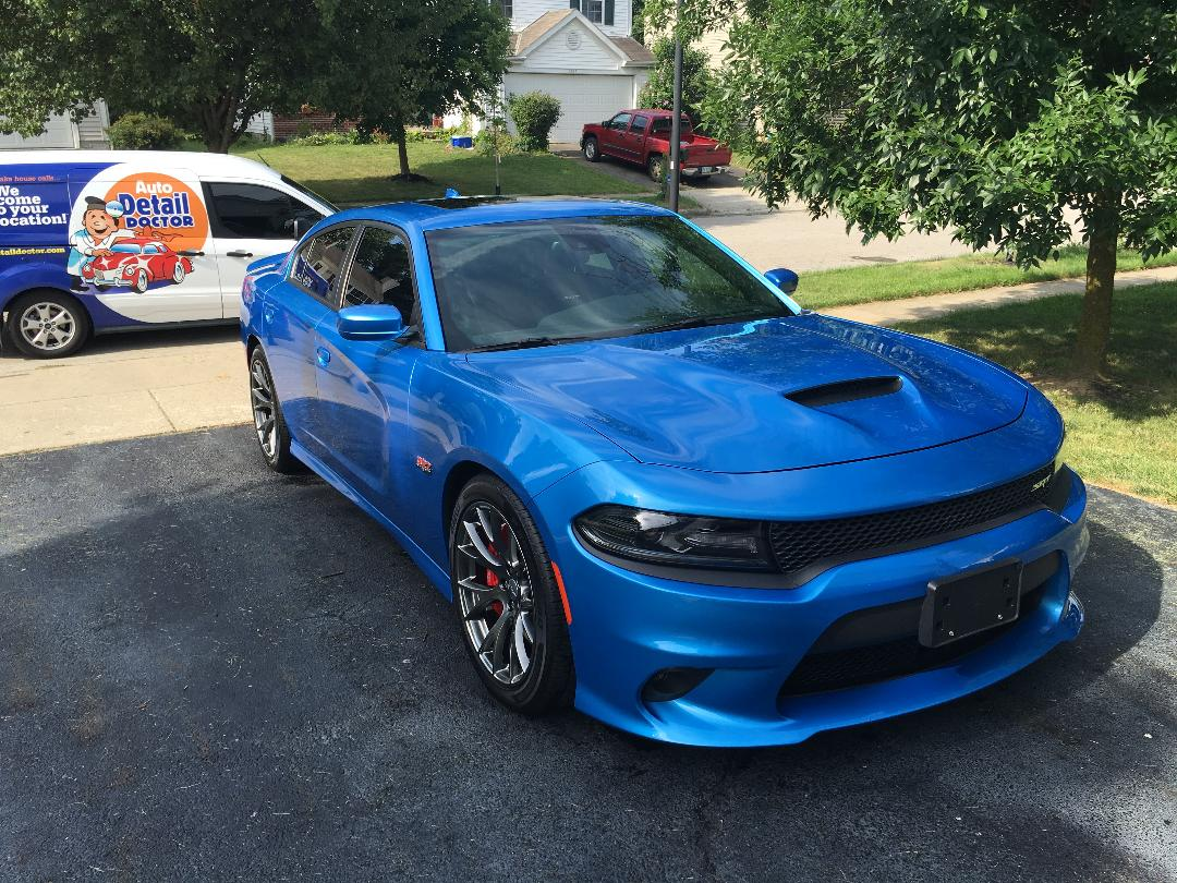 Blue Dodge 2017 Dodge Charger