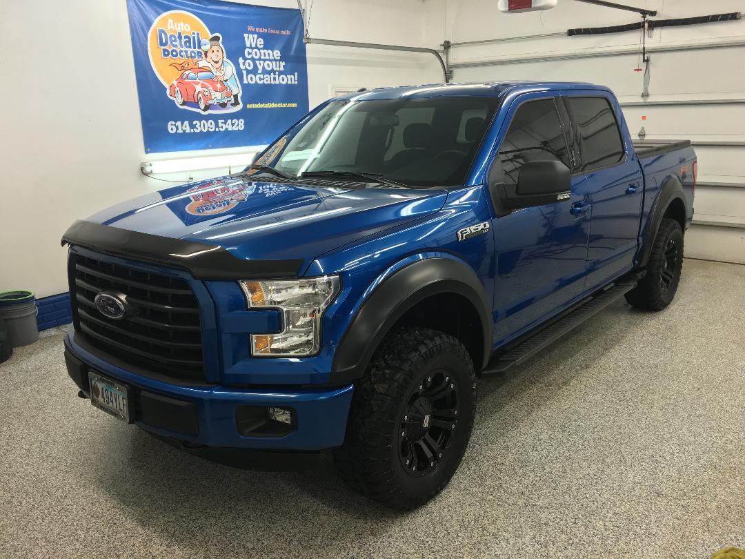 Blue Ford F150