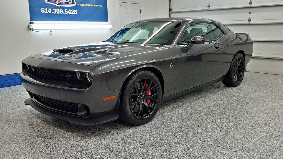 Dodge Challenger Hellcat ceramic coating Ohio
