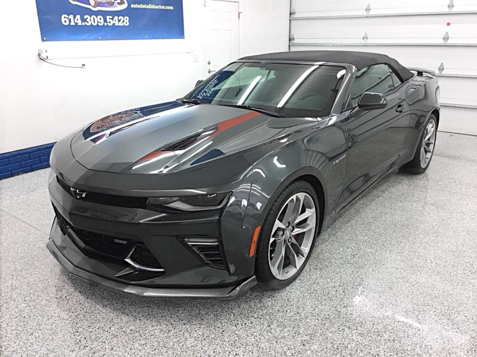50th Anniversary Chevrolet Camaro ceramic coating Columbus Ohio