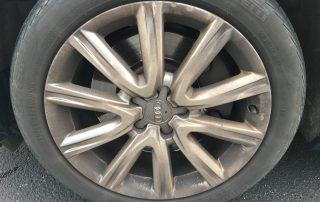 Audi Wheel With Brake Dust